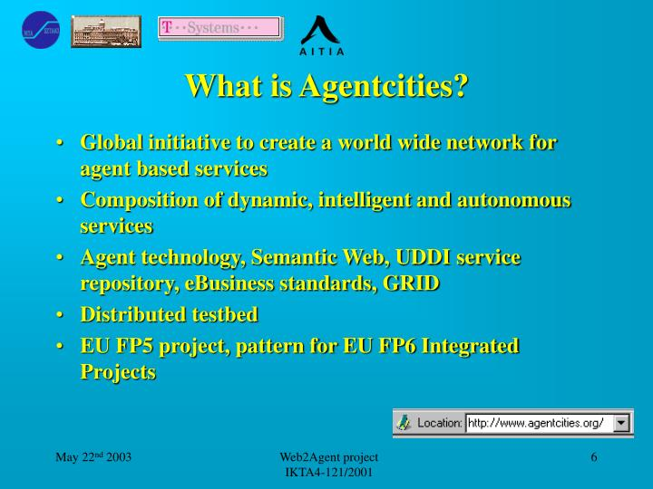 What is Agentcities?