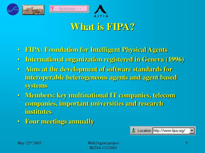 What is FIPA?