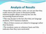 analysis of results2