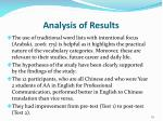 analysis of results3