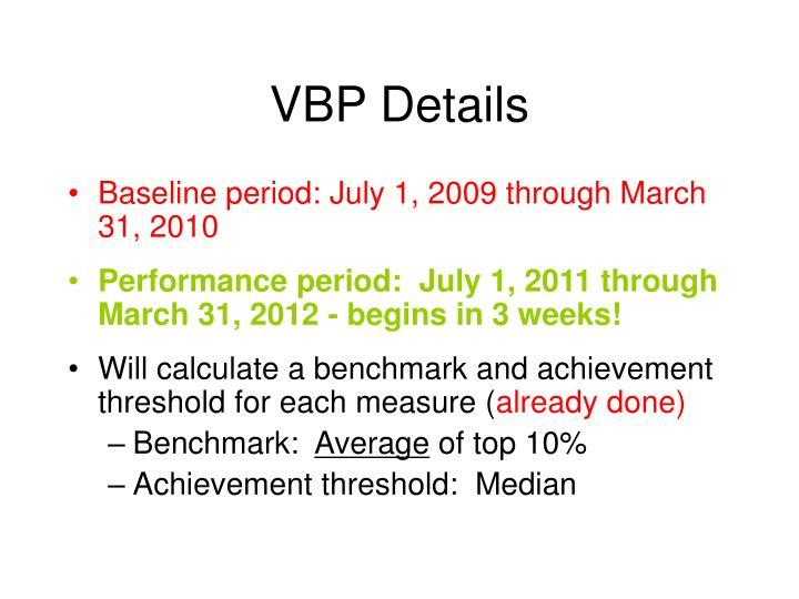 VBP Details