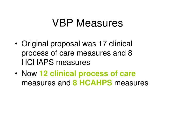 VBP Measures