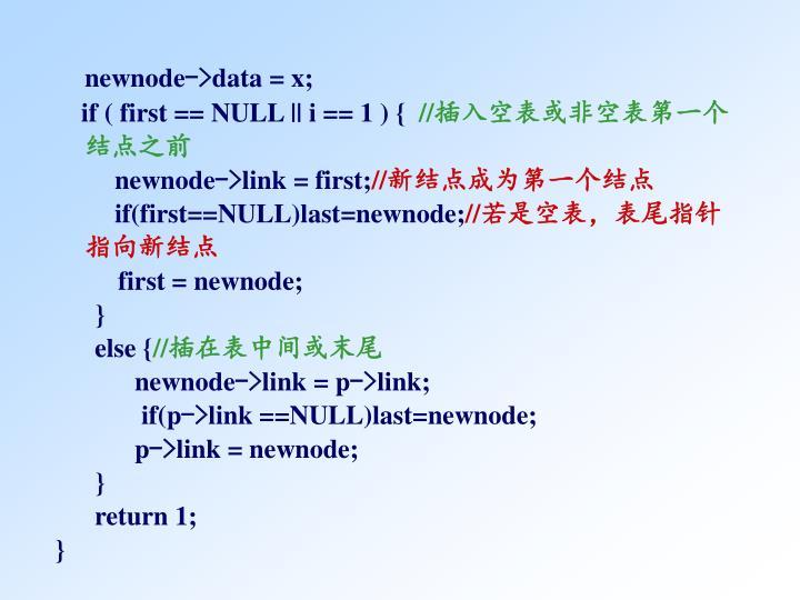 newnode