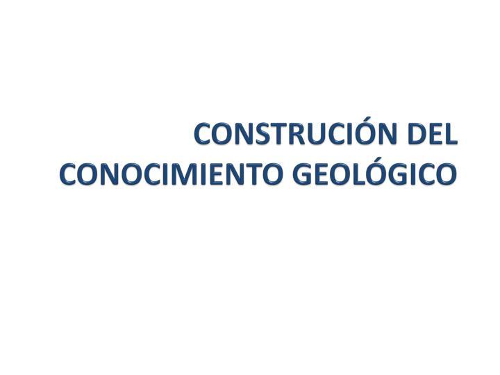 CONSTRUCIÓN DEL