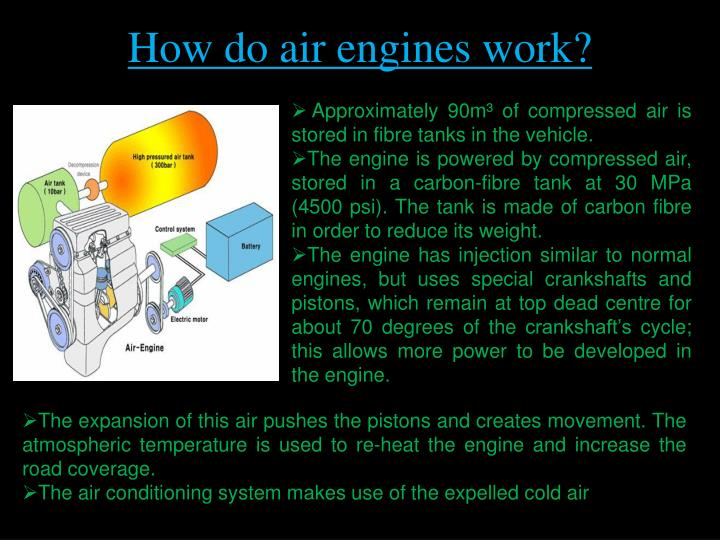 How do air engines work?