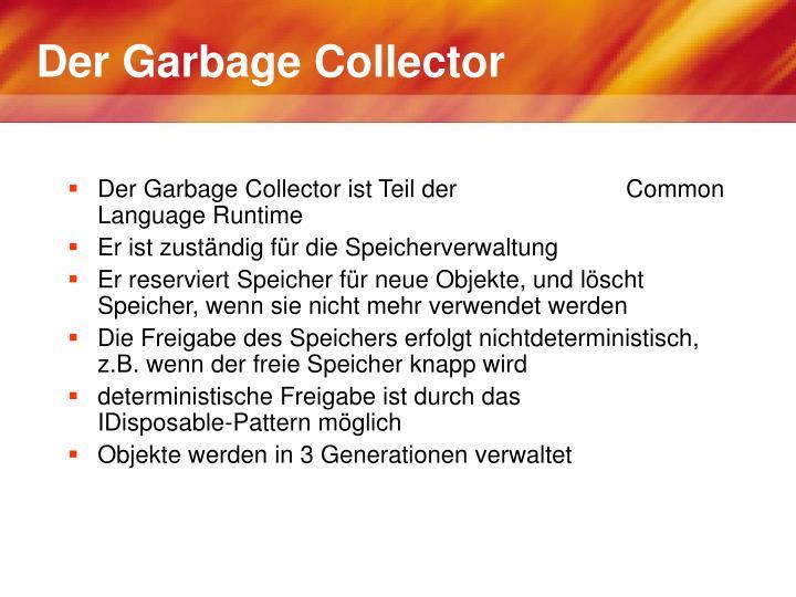 Der Garbage Collector