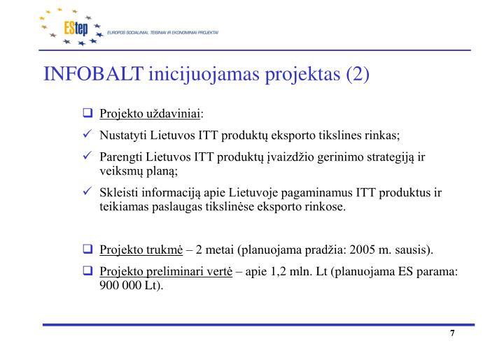 INFOBALT inicijuojamas projektas (2)