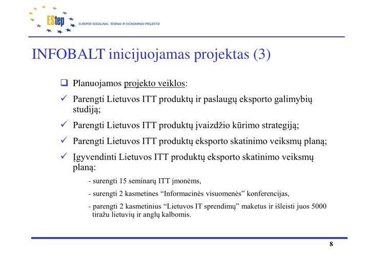 INFOBALT inicijuojamas projektas (3)