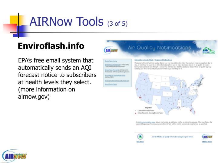 AIRNow Tools