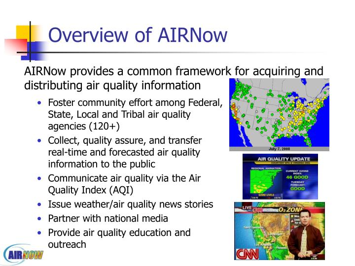 Overview of airnow