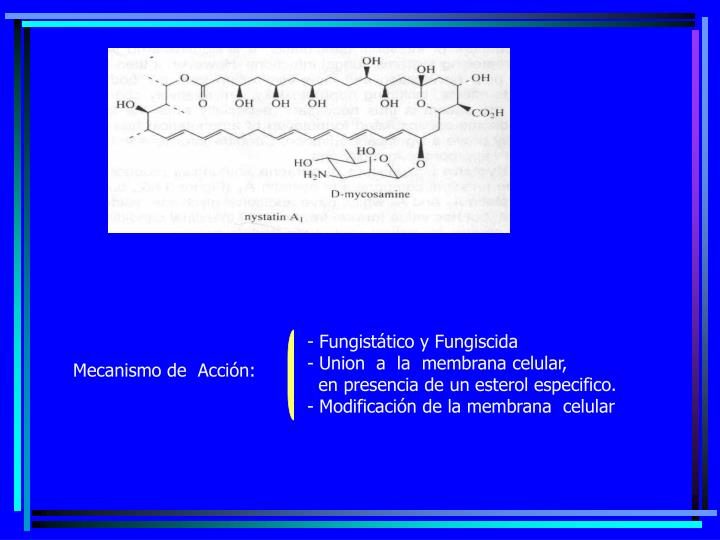 Fungistático y Fungiscida