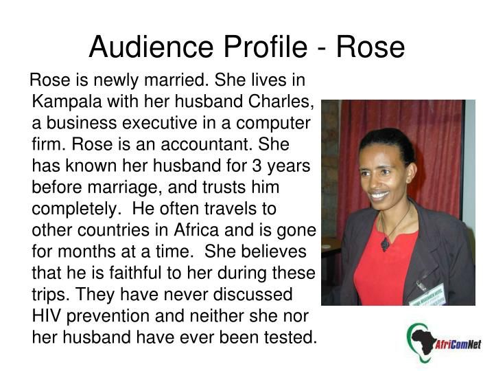 Audience Profile - Rose