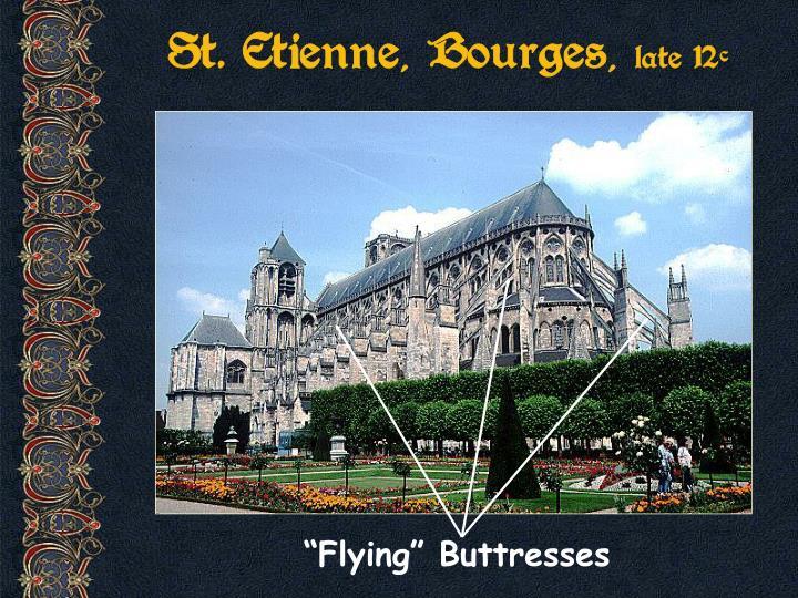 St. Etienne, Bourges,