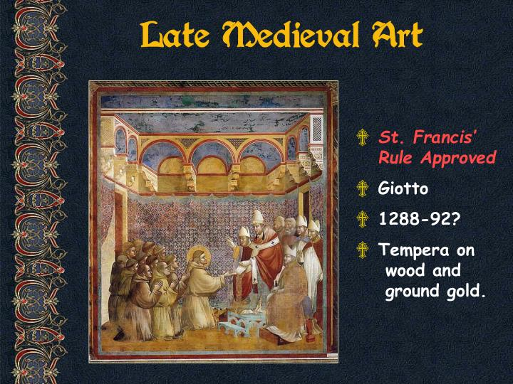 Late Medieval Art