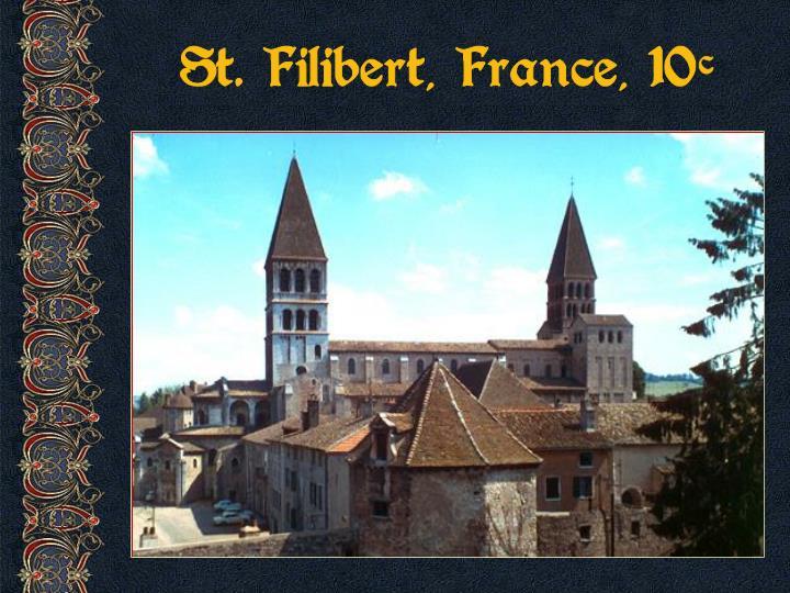 St. Filibert, France, 10