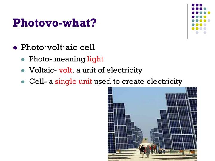 Photovo-what?