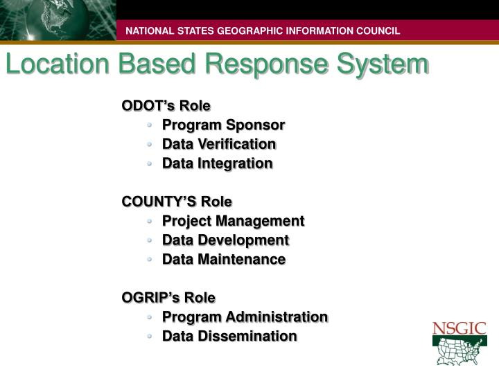Location Based Response System