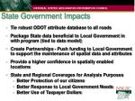 state government impacts