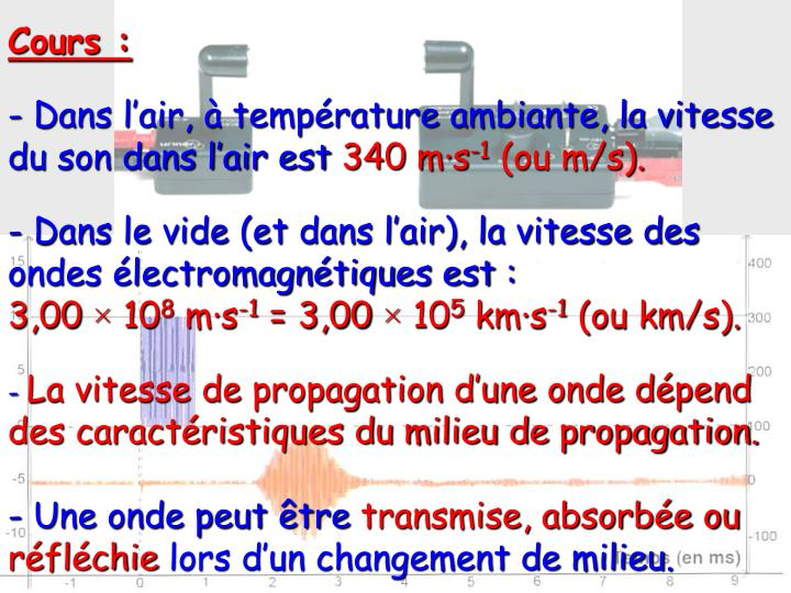 Cours :