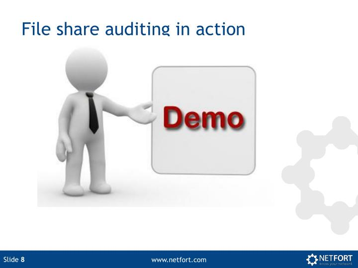 File share auditing in action