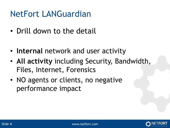 NetFort LANGuardian
