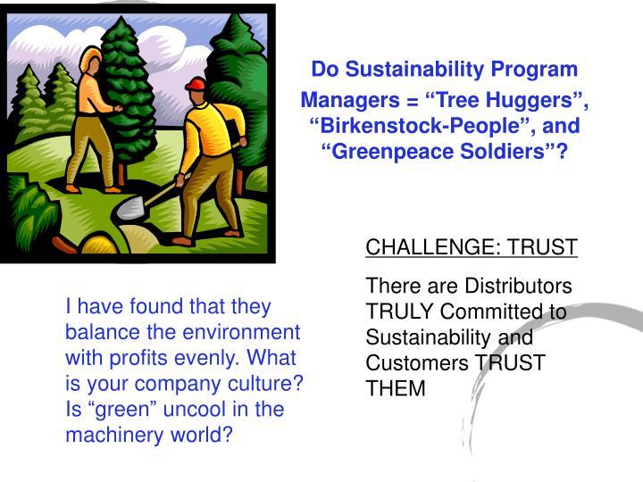 CHALLENGE: TRUST