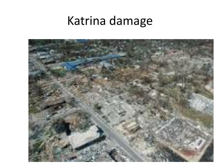 Katrina damage