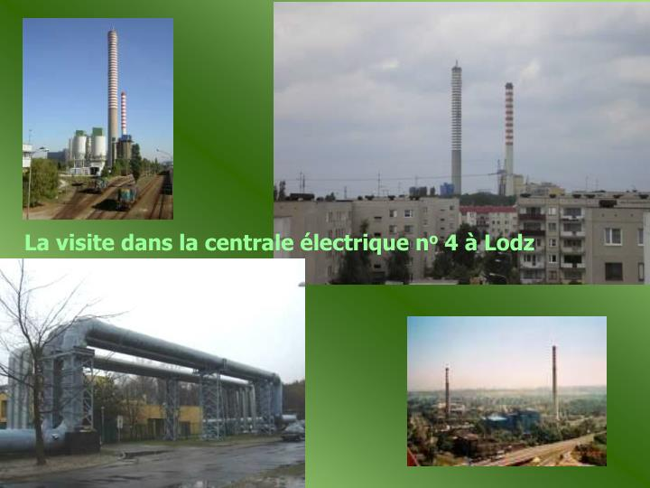 La visite dans la centrale électrique n