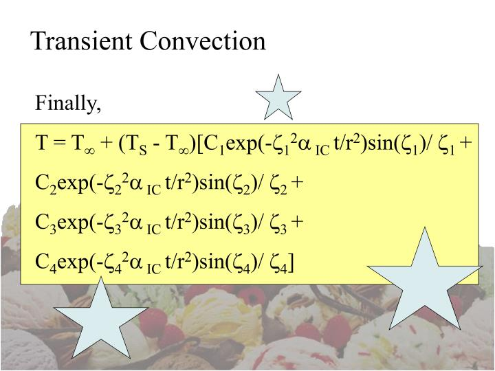 Transient Convection