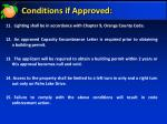 conditions if approved2