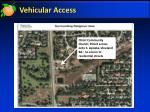 vehicular access1
