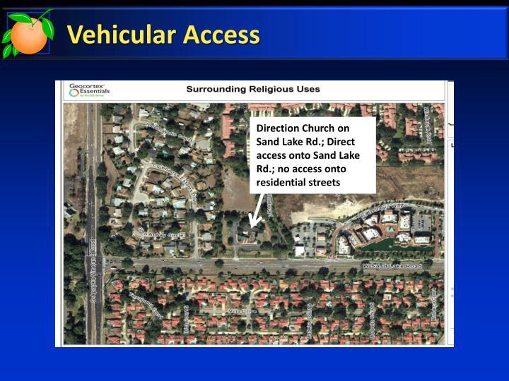 Vehicular Access