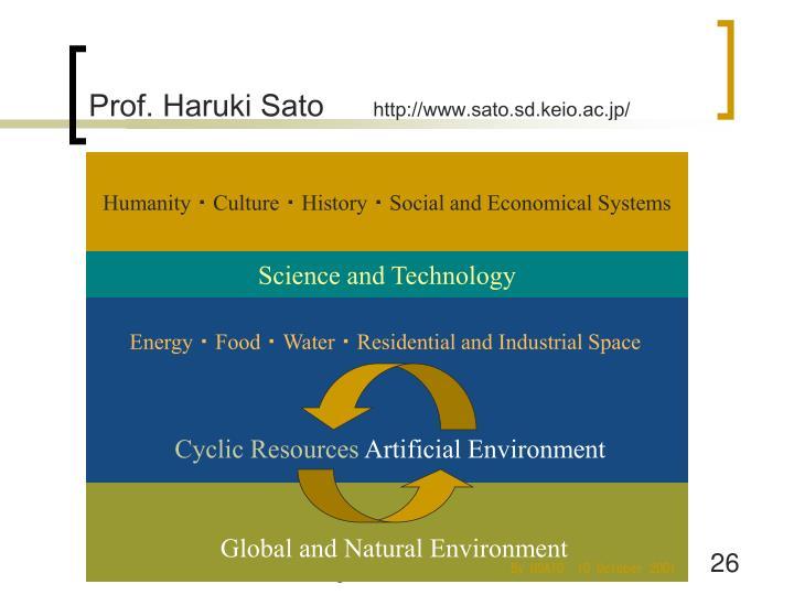 Prof. Haruki Sato