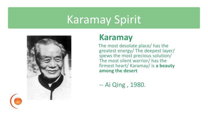 Karamay Spirit