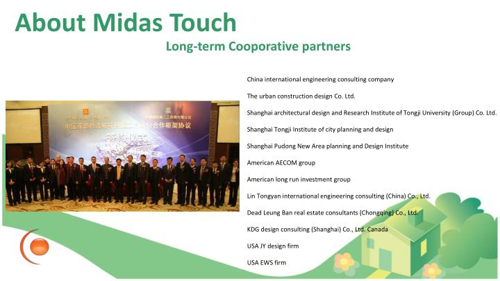 Long-term Cooporative partners