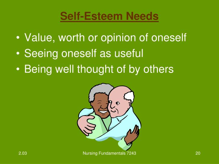Self-Esteem Needs
