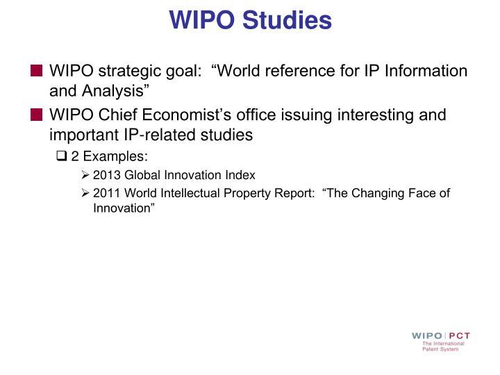 WIPO Studies