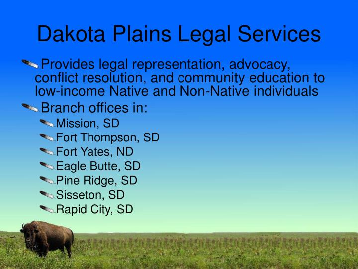 Dakota Plains Legal Services