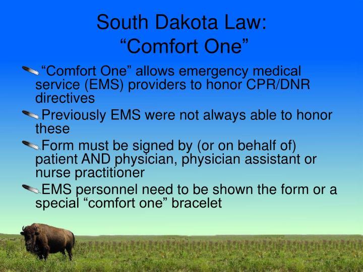 South Dakota Law: