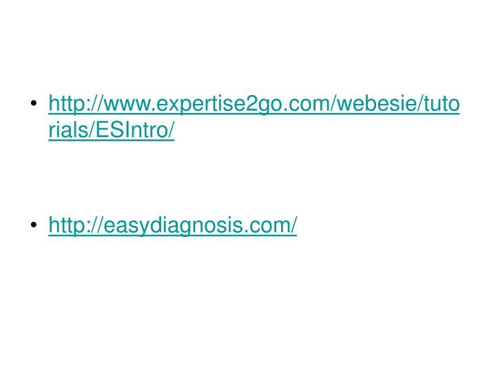 http://www.expertise2go.com/webesie/tutorials/ESIntro/