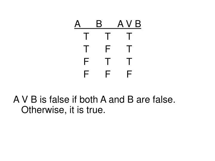 ABA V B