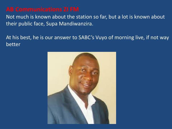 AB Communications ZI FM