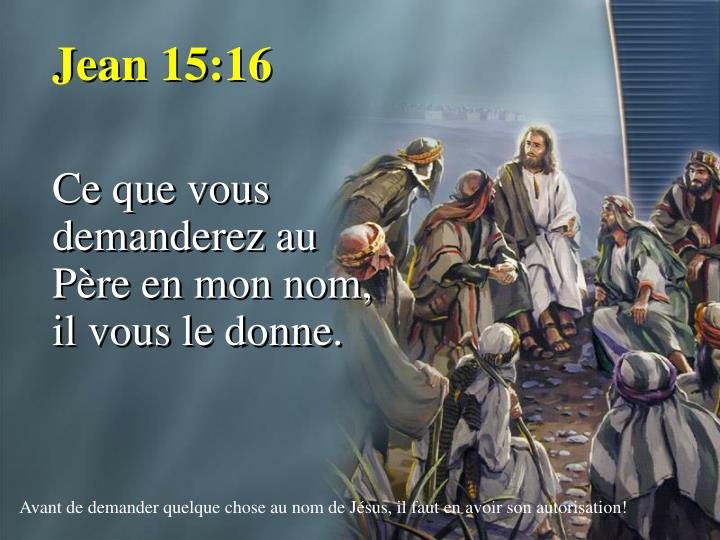 Jean 15:16