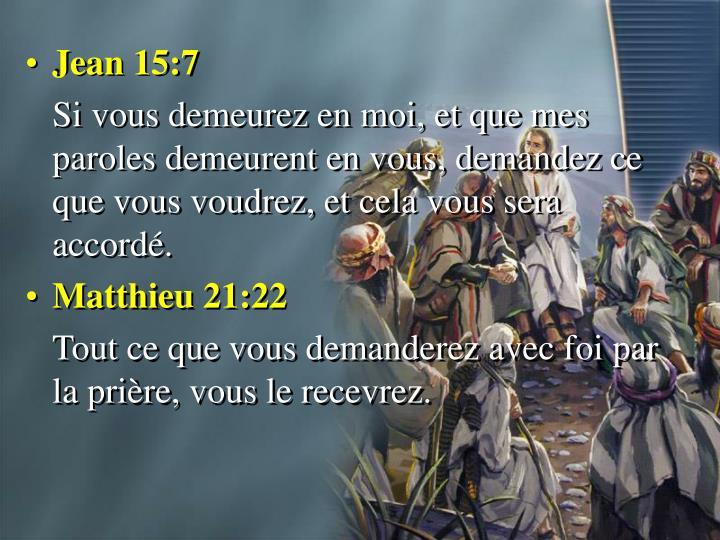 Jean 15:7