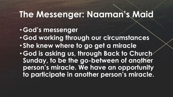 The Messenger: