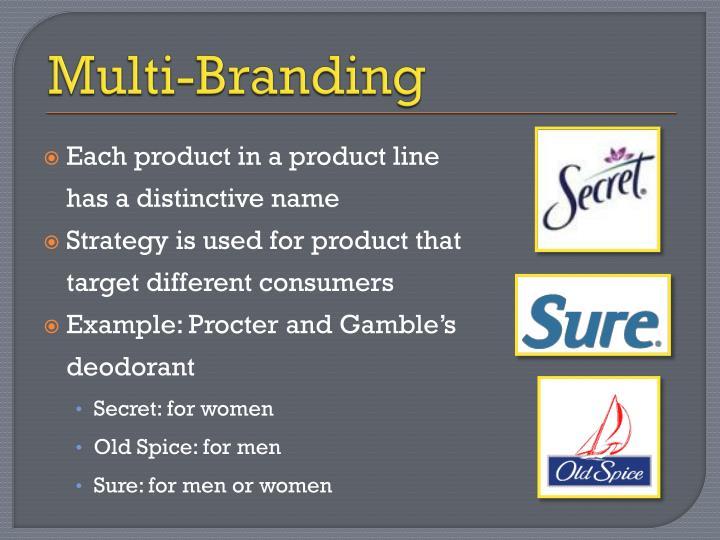 Multi-Branding