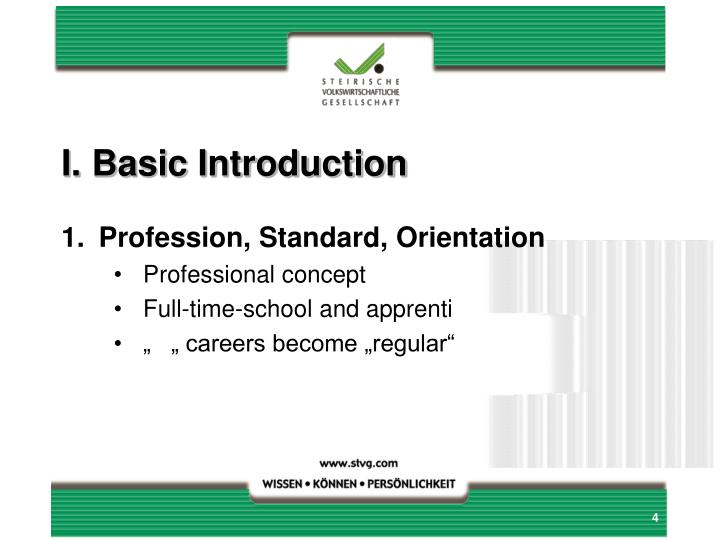I.Basic Introduction