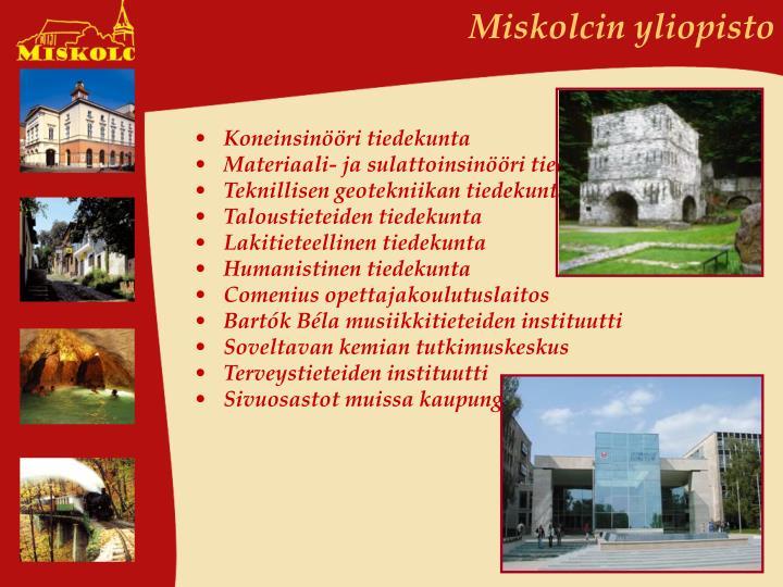 Miskolcin yliopisto