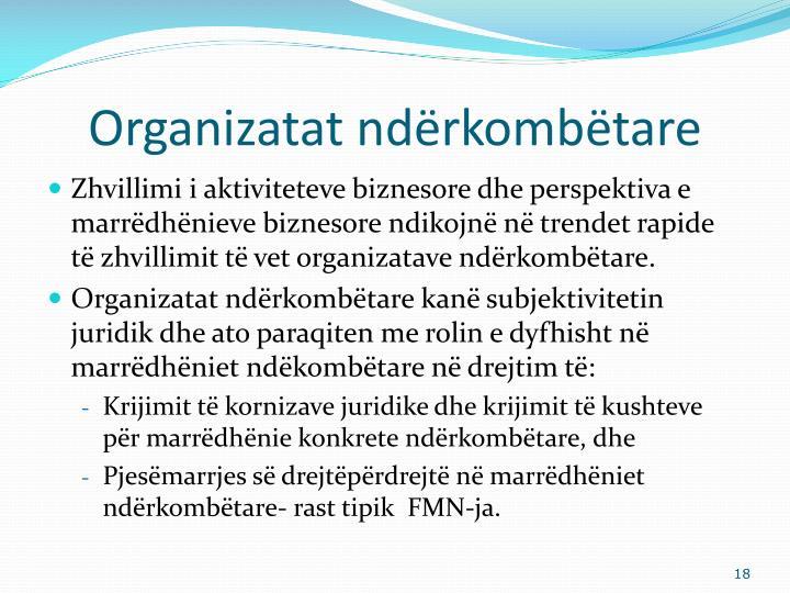 Organizatat ndërkombëtare