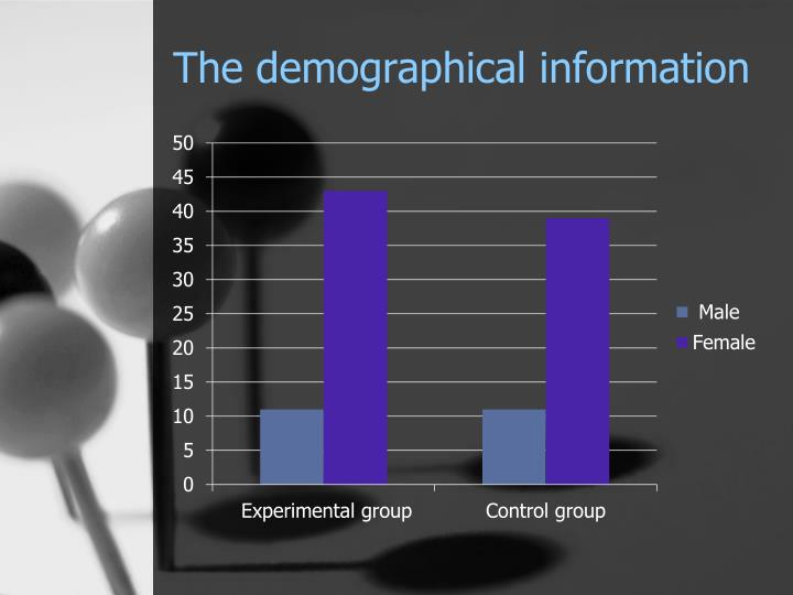 The demographical information